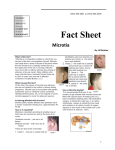 Fact Sheet Microtia   (303) 866-6681 or (303) 866-6605