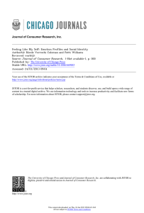 Journal of Consumer Research, Inc.