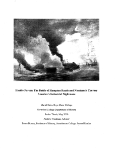 Hostile Forces:  The Battle of Hampton Roads and Nineteenth... America's Industrial Nightmare