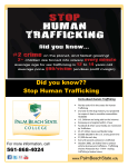 Did you know?? Stop Human Trafficking