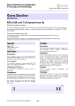 Gene Section BCL8 (B-cell CLL/lymphoma 8) Atlas of Genetics and Cytogenetics