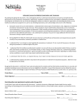 Health Services Informed	Consent	for	Medical	Examination	and	Treatment By	reading	and	signing	this	document,	I,	the	undersigned	patient	(or	authorized	representative)	consent	to	and	authorize	the