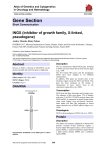 Gene Section INGX (inhibitor of growth family, X-linked, pseudogene)