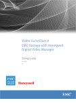 Video Surveillance EMC Storage with Honeywell Digital Video Manager Sizing Guide