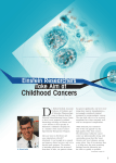 D Childhood Cancers Einstein Researchers Take Aim at