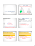5-7: The Binomial Theorem Pascal's Triangle