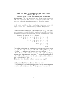 Math 4707 Intro to combinatorics and graph theory