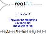 Chapter 3 Thrive in the Marketing Environment: Is