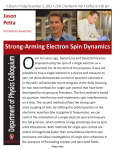 O  Strong-Arming Electron Spin Dynamics