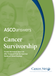 Cancer Survivorship Trusted Information About Life After Treatment From the American