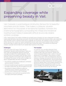 Expanding coverage while preserving beauty in Vail.
