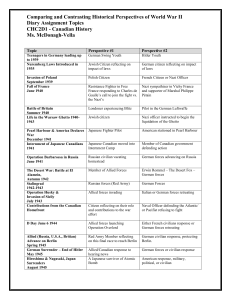Topics Sheet - Ms. McDonagh