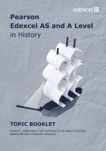 GCE Getting Started - Edexcel