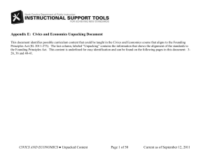 Civics and Economics TERMINOLOGY DOC 2-17