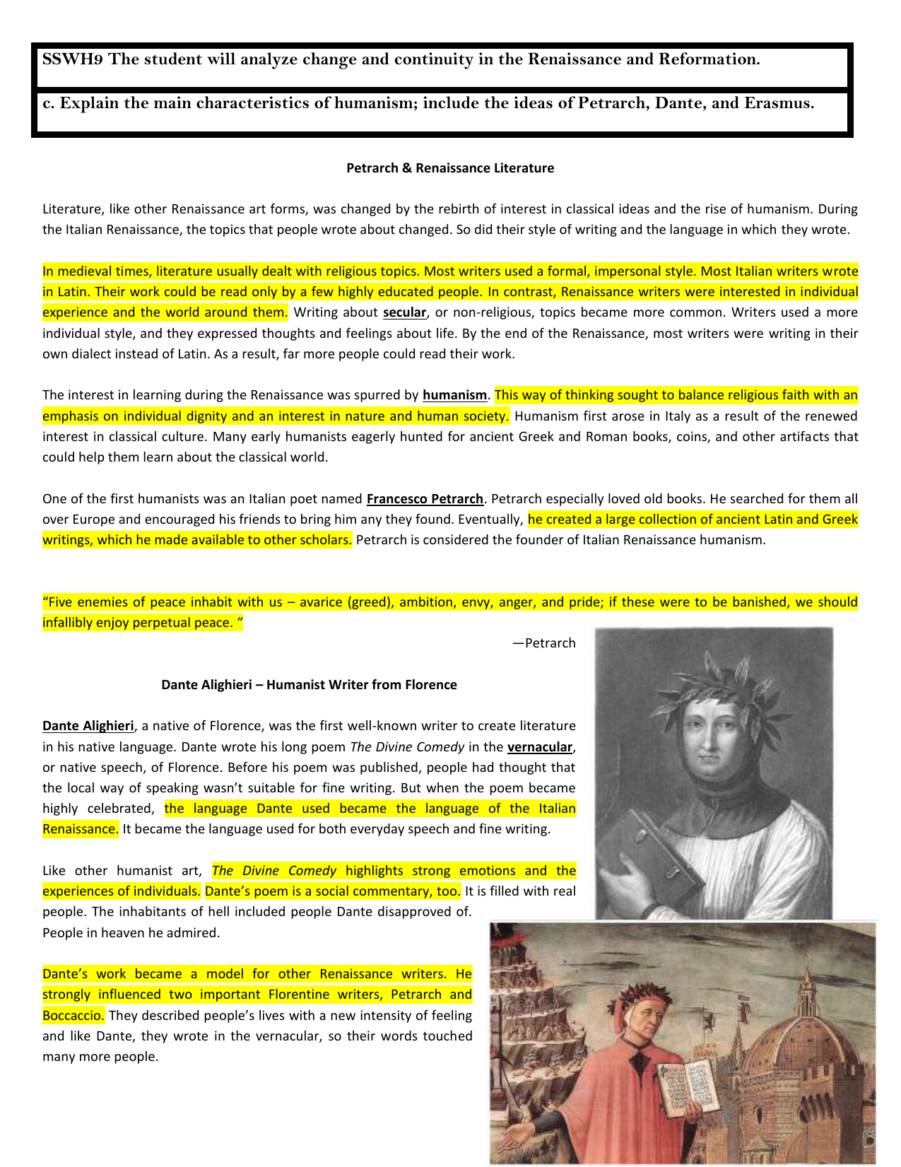 classical humanism renaissance