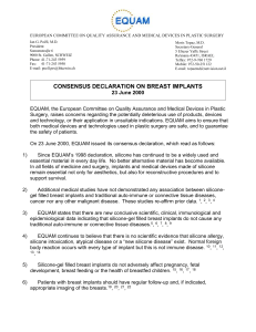 consdecjune2000final - International Breast Implant Registry