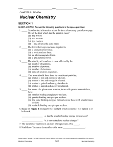 Ch 21.1 Study Guide