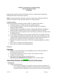 COMS 151 Library Instruction Session Outline