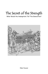 The Secret of the Strength - El Cristianismo Primitivo