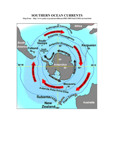FROM: The Antarctic Coastal Current
