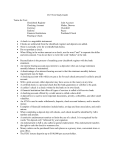 Ch 9 Test Study Guide