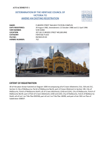 Flinders Street Station Complex Attach 1