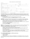 Please Fill Out Completely