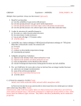 CHEM104 Examlette 1 – ANSWERS TOTAL POINTS = 94 Multiple