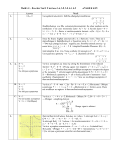 Math141 – Practice Test # 4 Sections 3