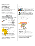 Global History Review Sheet – Unit 3