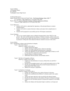 Course Syllabus - NSocialStudies