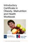 Introductory Certificate in Obesity, Malnutrition and Health
