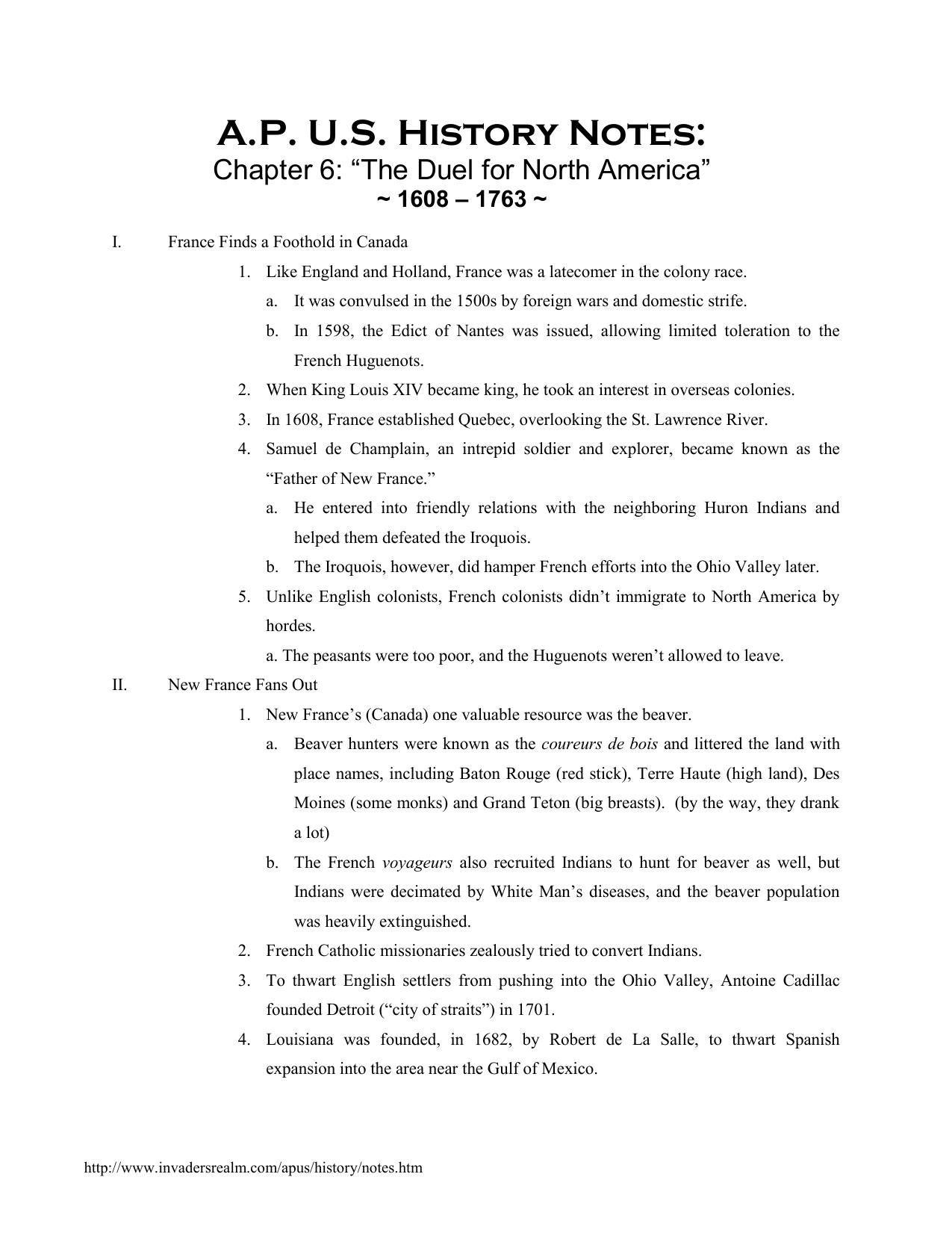 chapter 6 notes rh studyres com