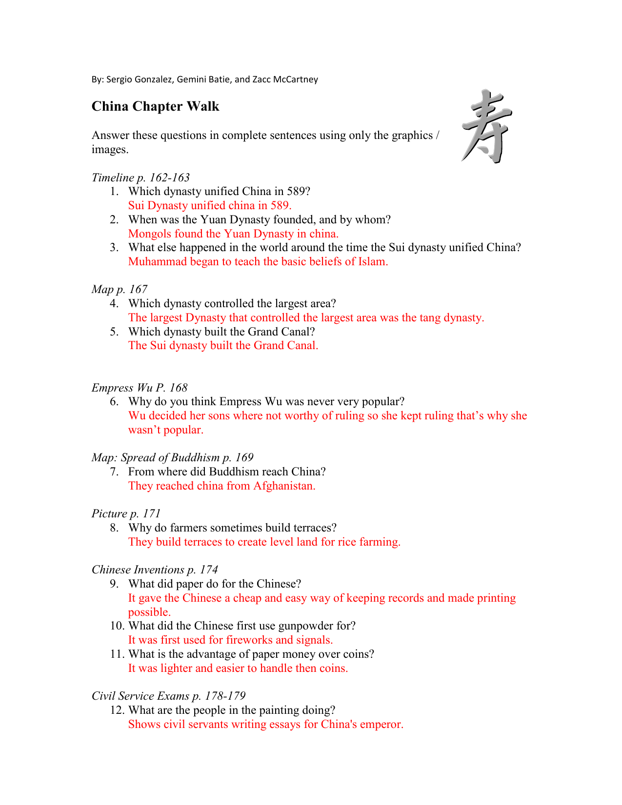 P China Chapter Walk  Do My Writing also Custom Essay Paper  Buy Science Fair Project