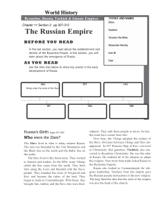 early-russian-empire