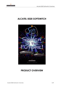 alcatel 5020 softswitch