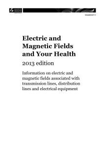 What are electric and magnetic fields?