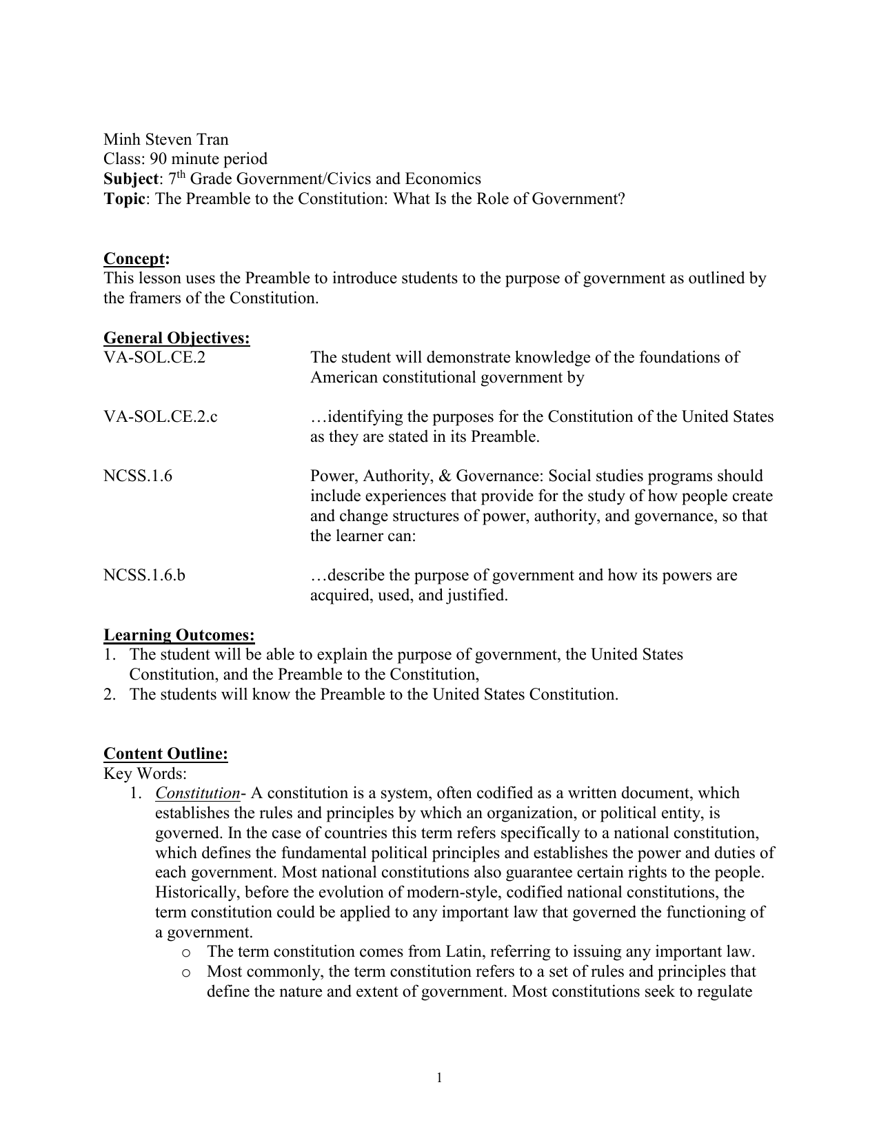 Worksheets Preamble To The Constitution Worksheet vi preamble to the constitution constitution