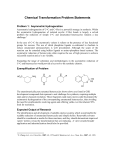 Chemical Transformations - ACE