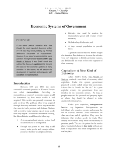 Economic Systems of Government - Marine Corps Junior ROTC blog
