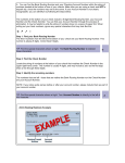 Donor Auto Pay/ACH bank info sample