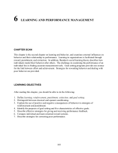 6 learning and performance management