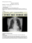Radiology assignment for Clerkship