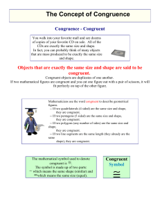 4 blog notes congruent triangles