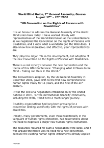 UN Convention on the Rights