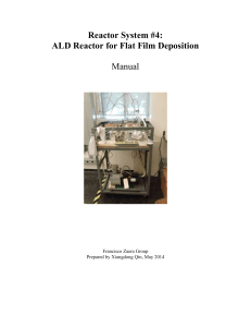 Reactor#4, ALD Films