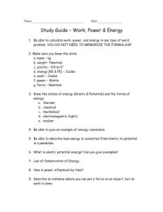 Unit 9 Study Guide - Hewlett