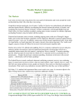 Weekly Commentary 08-04-14 PAA