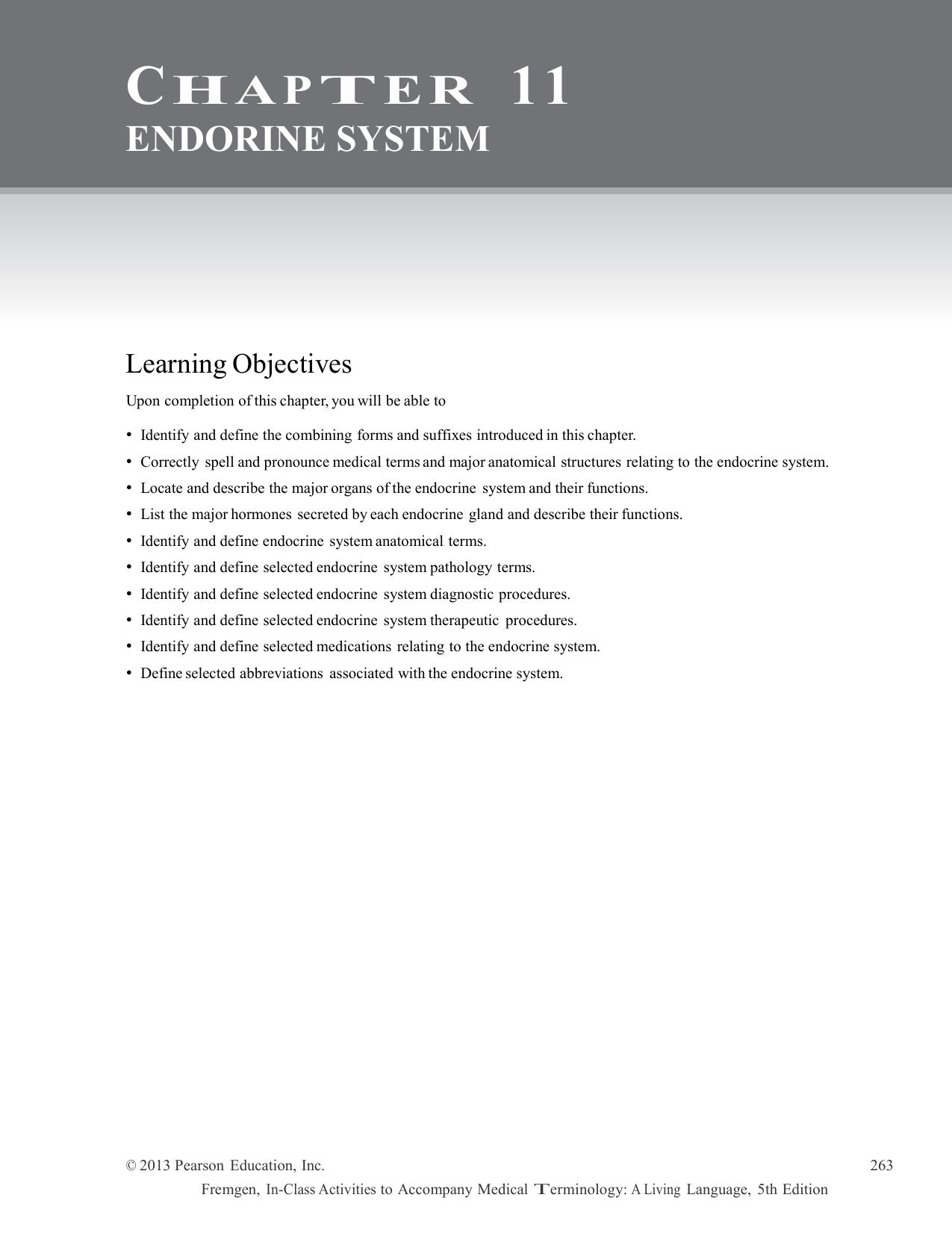 Worksheet Chapter 11