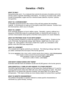 Genetics - FAQ`s - El Camino College